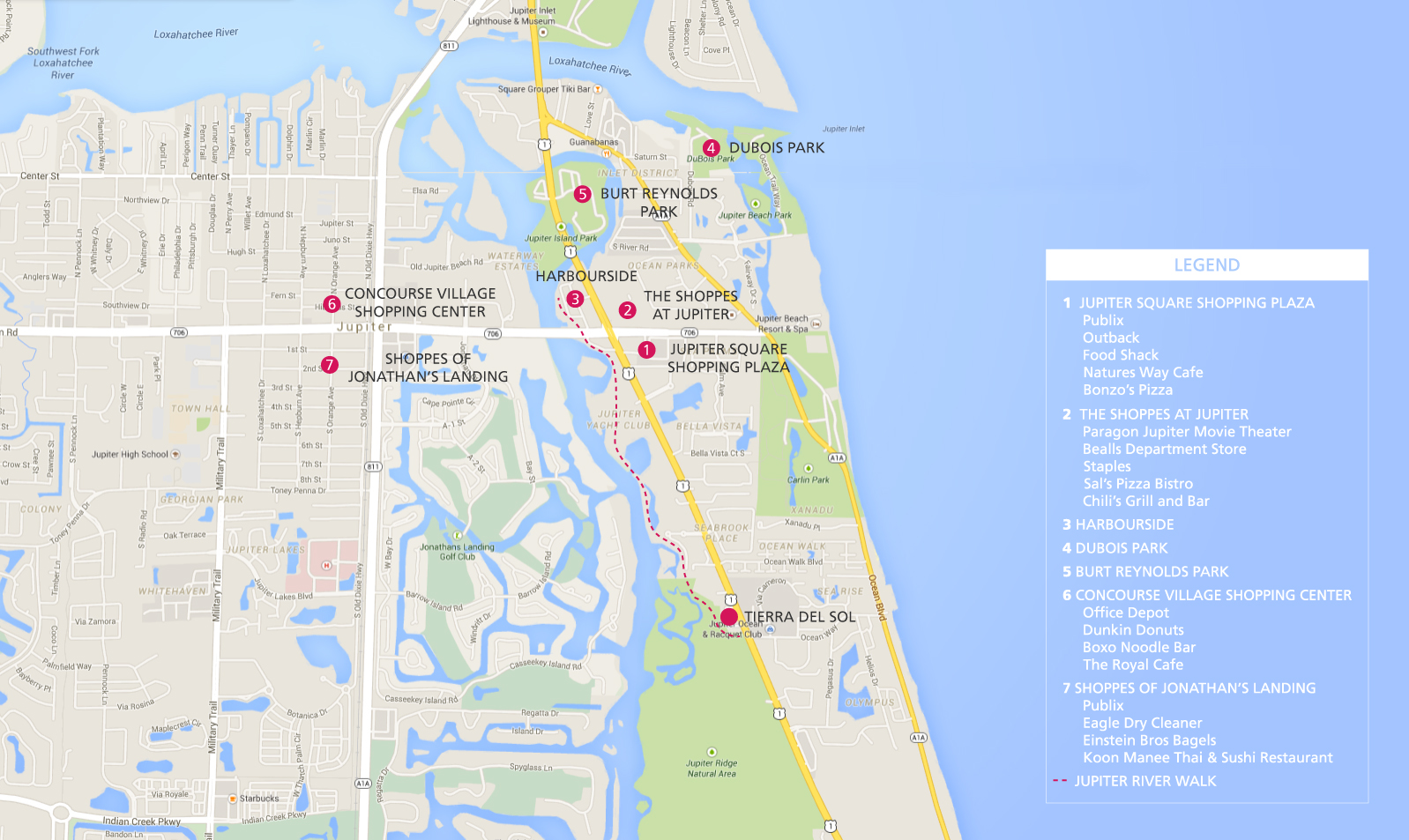 Jupiter Florida Map New Homes For Sale Tierra Sol Our ...